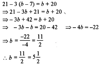 Selina Concise Mathematics Class 7 ICSE Solutions Chapter 12 Simple Linear Equations Ex 12B 52