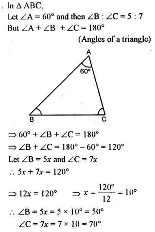 Selina Concise Mathematics Class 7 ICSE Solutions Chapter 15 Triangles Ex 15A 11