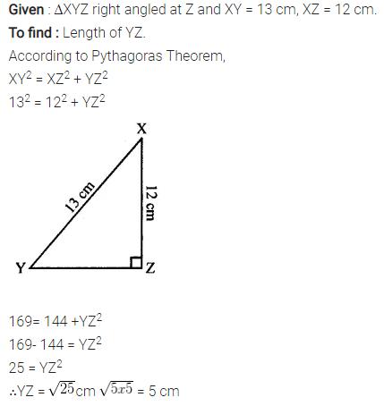 Selina Concise Mathematics Class 7 ICSE Solutions Chapter 16 Pythagoras Theorem 2