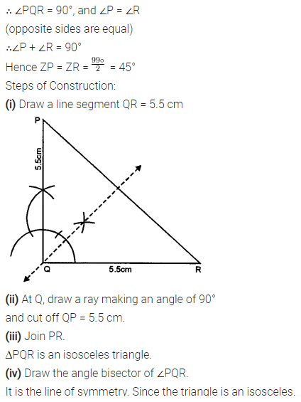 Selina Concise Mathematics Class 7 ICSE Solutions Chapter 17 Symmetry Ex 17A 10