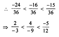 Selina Concise Mathematics Class 7 ICSE Solutions Chapter 2 Rational Numbers Ex 2B 39