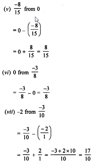 Selina Concise Mathematics Class 7 ICSE Solutions Chapter 2 Rational Numbers Ex 2C 63