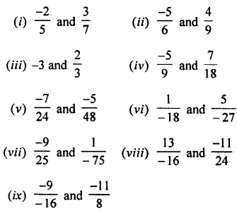 Selina Concise Mathematics Class 7 ICSE Solutions Chapter 2 Rational Numbers Ex 2C Q2