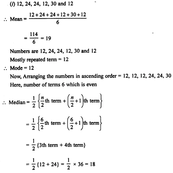 Selina Concise Mathematics Class 7 ICSE Solutions Chapter 21 Data Handling Ex 21B 34