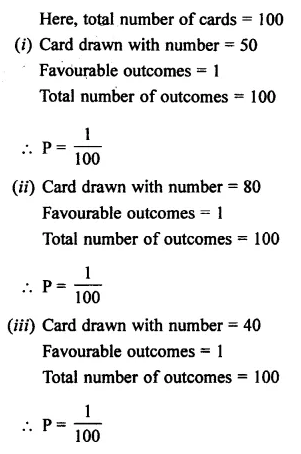Selina Concise Mathematics Class 7 ICSE Solutions Chapter 22 Probability Ex 22A 10