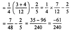 Selina Concise Mathematics Class 7 ICSE Solutions Chapter 3 Fractions (Including Problems) Ex 3D 61