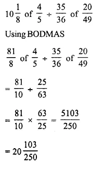 Selina Concise Mathematics Class 7 ICSE Solutions Chapter 3 Fractions (Including Problems) Ex 3D 67
