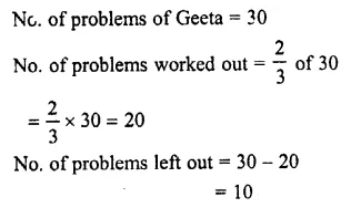 Selina Concise Mathematics Class 7 ICSE Solutions Chapter 3 Fractions (Including Problems) Ex 3E 76