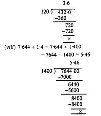 Selina Concise Mathematics Class 7 ICSE Solutions Chapter 4 Decimal Fractions (Decimals) Ex 4C 33