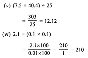 Selina Concise Mathematics Class 7 ICSE Solutions Chapter 4 Decimal Fractions (Decimals) Ex 4C 54