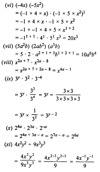 Selina Concise Mathematics Class 7 ICSE Solutions Chapter 5 Exponents (Including Laws of Exponents) Ex 5B 20