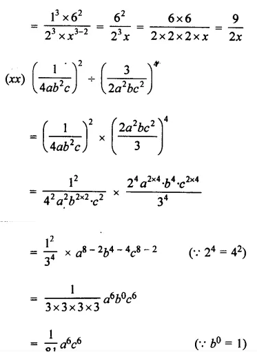 Selina Concise Mathematics Class 7 ICSE Solutions Chapter 5 Exponents (Including Laws of Exponents) Ex 5B 23