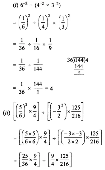 Selina Concise Mathematics Class 7 ICSE Solutions Chapter 5 Exponents (Including Laws of Exponents) Ex 5B 28