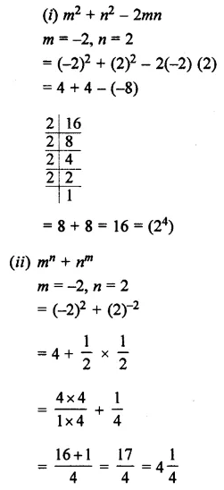 Selina Concise Mathematics Class 7 ICSE Solutions Chapter 5 Exponents (Including Laws of Exponents) Ex 5B 32