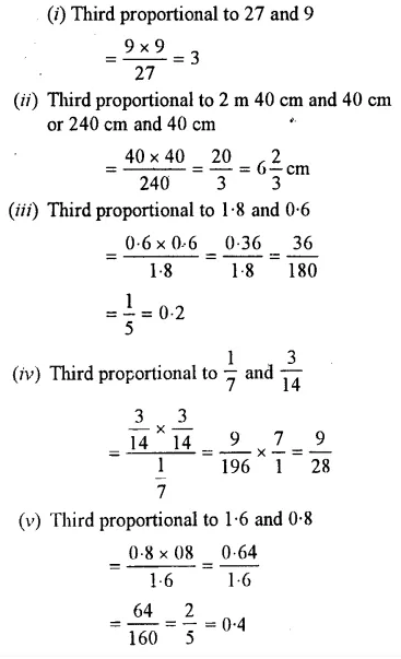 Selina Concise Mathematics Class 7 ICSE Solutions Chapter 6 Ratio and Proportion (Including Sharing in a Ratio) Ex 6B 30