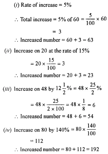 Selina Concise Mathematics Class 7 ICSE Solutions Chapter 7 Percent and Percentage Ex 8C 28