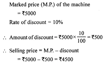 Selina Concise Mathematics Class 7 ICSE Solutions Chapter 9 Profit, Loss and Discount Ex 9C 30