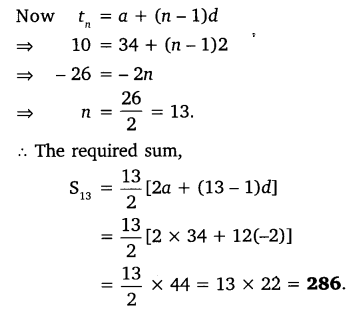NCERT Solutions for Class 10 Maths Chapter 5 Arithmetic Progressions 52