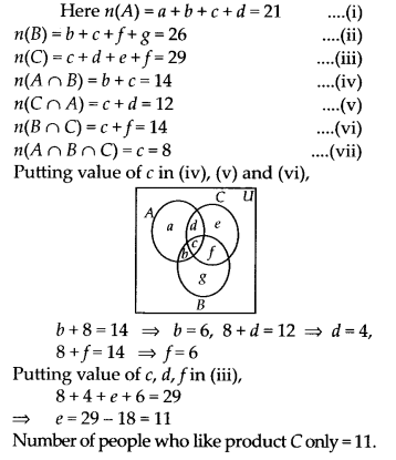 NCERT Solutions for Class 11 Maths Chapter 1 Sets Miscellaneous Exercise 8
