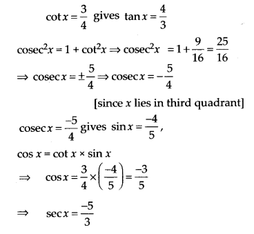NCERT Solutions for Class 11 Maths Chapter 3 Trigonometric Functions Ex 3.2 3