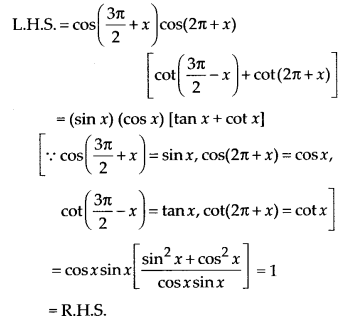 NCERT Solutions for Class 11 Maths Chapter 3 Trigonometric Functions Ex 3.3 9