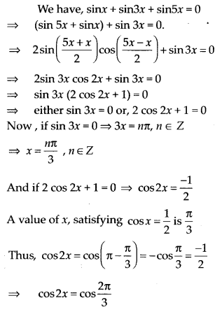 NCERT Solutions for Class 11 Maths Chapter 3 Trigonometric Functions Ex 3.4 11
