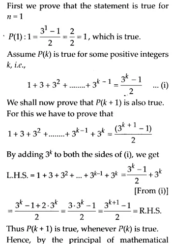 NCERT Solutions for Class 11 Maths Chapter 4 Principle of Mathematical Induction 1