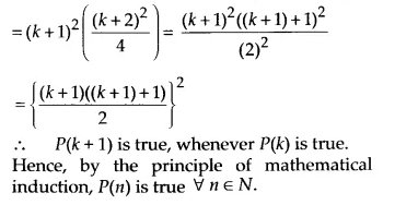 NCERT Solutions for Class 11 Maths Chapter 4 Principle of Mathematical Induction 4
