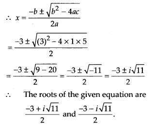 NCERT Solutions for Class 11 Maths Chapter 5 Complex Numbers and Quadratic Equations Ex 5.3 4