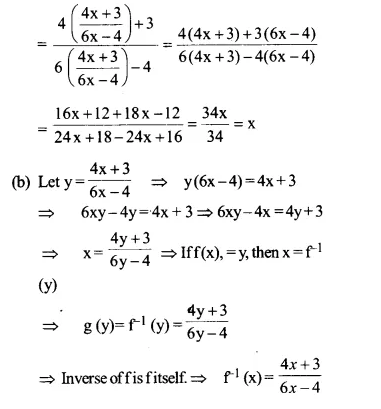 NCERT Solutions for Class 12 Maths Chapter 1 Relations and Functions Ex 1.3 Q4.1