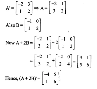 NCERT Solutions for Class 12 Maths Chapter 3 Matrices Ex 3.3 Q4.1