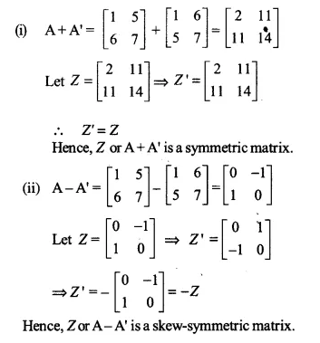 NCERT Solutions for Class 12 Maths Chapter 3 Matrices Ex 3.3 Q8.1