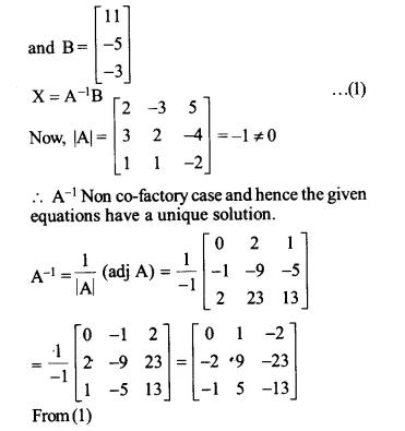 NCERT Solutions for Class 12 Maths Chapter 4 Determinants Ex 4.6 Q15.1