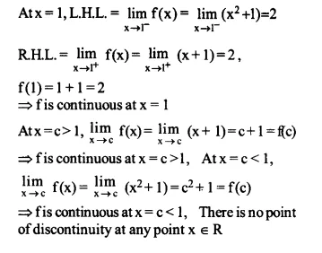 NCERT Solutions for Class 12 Maths Chapter 5 Continuity and Differentiability Ex 5.1 Q10.1