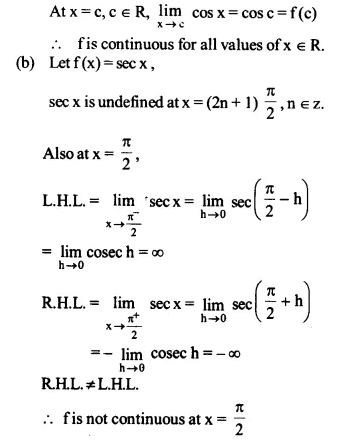 NCERT Solutions for Class 12 Maths Chapter 5 Continuity and Differentiability Ex 5.1 Q22.1