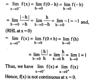 NCERT Solutions for Class 12 Maths Chapter 5 Continuity and Differentiability Ex 5.1 Q8.1