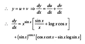 NCERT Solutions for Class 12 Maths Chapter 5 Continuity and Differentiability Ex 5.5 Q9.2