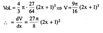 NCERT Solutions for Class 12 Maths Chapter 6 Application of Derivatives Ex 6.1 Q13.1