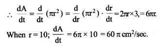NCERT Solutions for Class 12 Maths Chapter 6 Application of Derivatives Ex 6.1 Q3.1