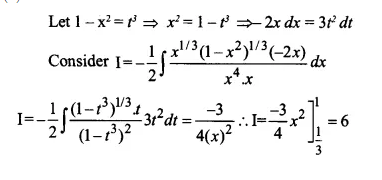 NCERT Solutions for Class 12 Maths Chapter 7 Integrals Ex 7.10 Q9.1