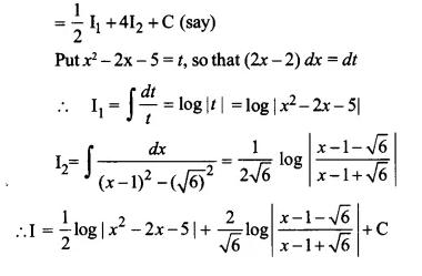 NCERT Solutions for Class 12 Maths Chapter 7 Integrals Ex 7.4 Q22.1
