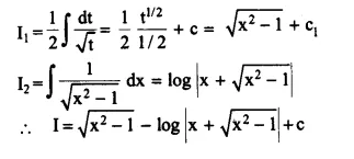 NCERT Solutions for Class 12 Maths Chapter 7 Integrals Ex 7.4 Q7.1