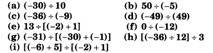 NCERT Solutions for Class 7 Maths Chapter 1 Integers 9