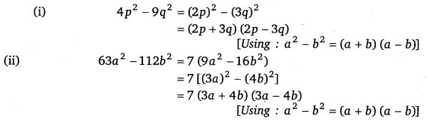 NCERT Solutions for Class 8 Maths Chapter 14 Factorisation 8