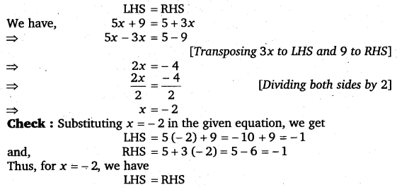 NCERT Solutions for Class 8 Maths Chapter 2 Linear Equations In One Variable 33
