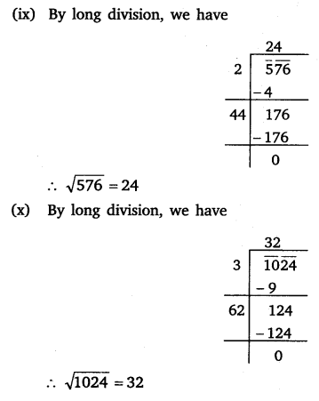 NCERT Solutions for Class 8 Maths Chapter 6 Squares and Square Roots 24