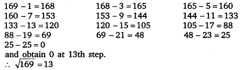 NCERT Solutions for Class 8 Maths Chapter 6 Squares and Square Roots 3