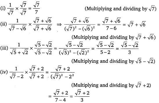NCERT Solutions for Class 9 Maths Chapter 1 Number Systems Ex 1.5-3