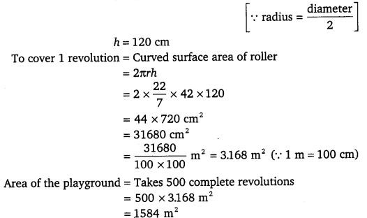 NCERT Solutions for Class 9 Maths Chapter 13 Surface Areas and Volumes Ex 13.2.4