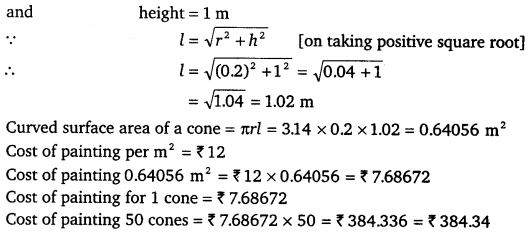 NCERT Solutions for Class 9 Maths Chapter 13 Surface Areas and Volumes Ex 13.3.8